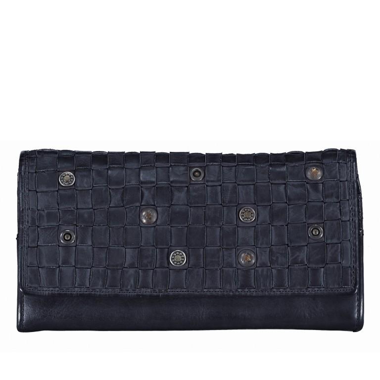 Geldbörse Soft-Weaving Adriane B3.9857 Midnight Navy, Farbe: blau/petrol, Marke: Harbour 2nd, EAN: 4046478019201, Abmessungen in cm: 18.0x10.0x3.5, Bild 1 von 4