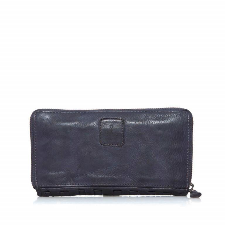Geldbörse Soft-Weaving Penelope B3.9859 Midnight Navy, Farbe: blau/petrol, Marke: Harbour 2nd, EAN: 4046478019256, Abmessungen in cm: 18.0x10.0x2.5, Bild 3 von 3