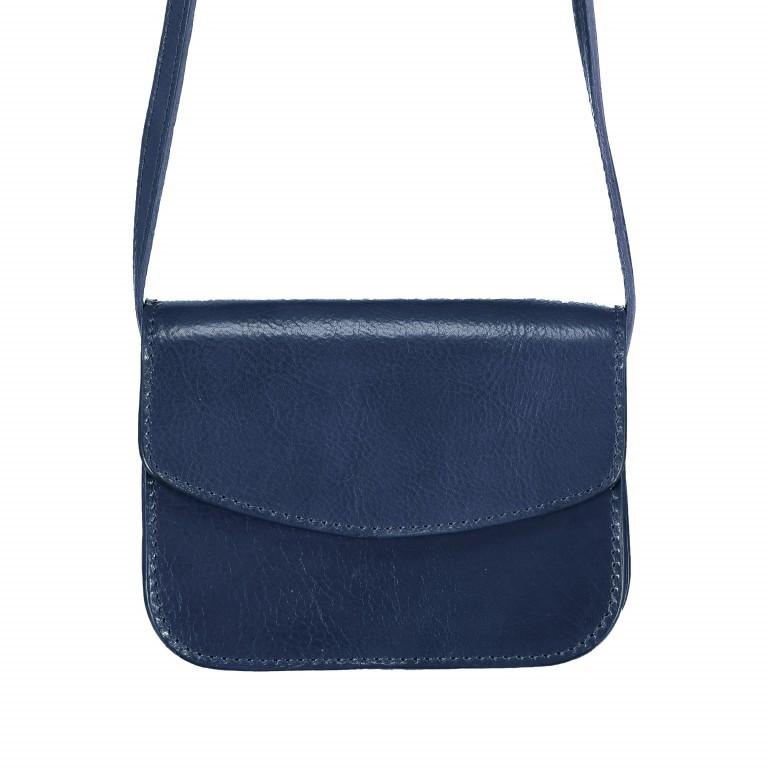 Umhängetasche Toscana Blau, Farbe: blau/petrol, Marke: Hausfelder, EAN: 4065646000018, Abmessungen in cm: 19.0x14.0x10.0, Bild 1 von 6