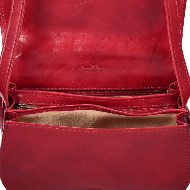 Satteltasche Toscana Größe M Cognac, Farbe: cognac, Marke: Hausfelder, EAN: 4065646000162, Abmessungen in cm: 27.0x20.0x11.0, Bild 6 von 6