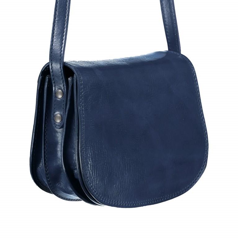 Satteltasche Toscana Größe M Blau, Farbe: blau/petrol, Marke: Hausfelder, EAN: 4065646000148, Abmessungen in cm: 27.0x20.0x11.0, Bild 2 von 6