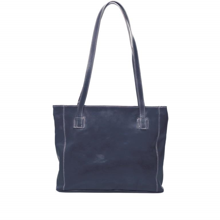 Shopper Toscana Blau, Farbe: blau/petrol, Marke: Hausfelder, EAN: 4065646000247, Abmessungen in cm: 38.0x31.0x7.0, Bild 1 von 6