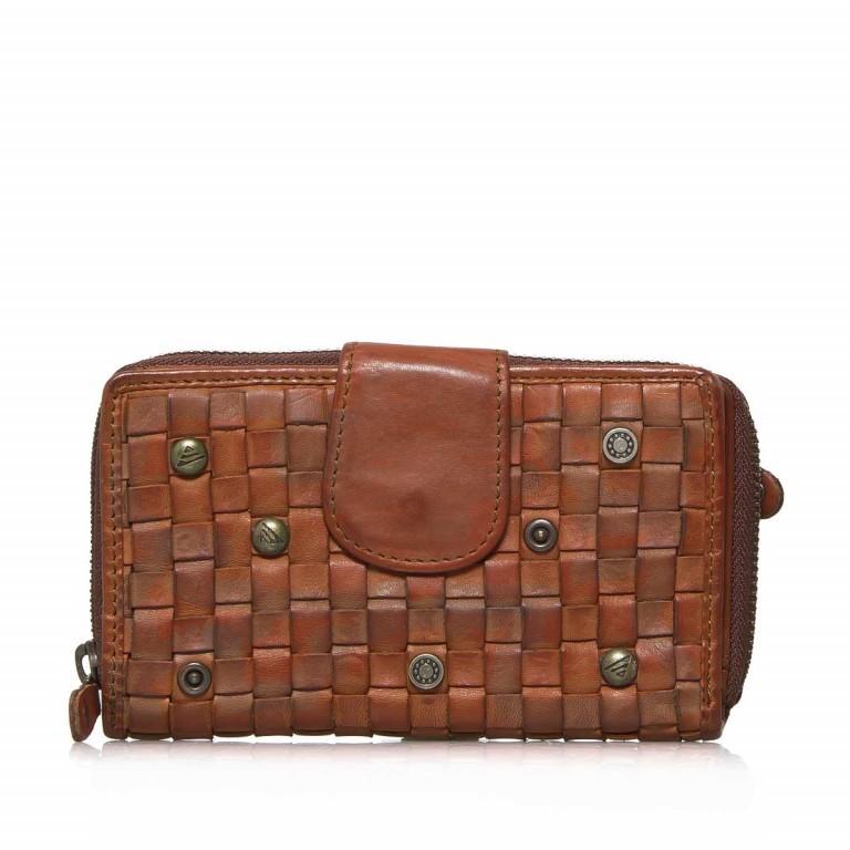 Geldbörse Soft-Weaving Lucinda B3.0647 Charming Cognac, Farbe: cognac, Marke: Harbour 2nd, EAN: 4046478025950, Abmessungen in cm: 16.0x10.0x3.0, Bild 1 von 4