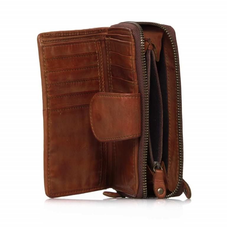 Geldbörse Soft-Weaving Lucinda B3.0647 Charming Cognac, Farbe: cognac, Marke: Harbour 2nd, EAN: 4046478025950, Abmessungen in cm: 16.0x10.0x3.0, Bild 3 von 4