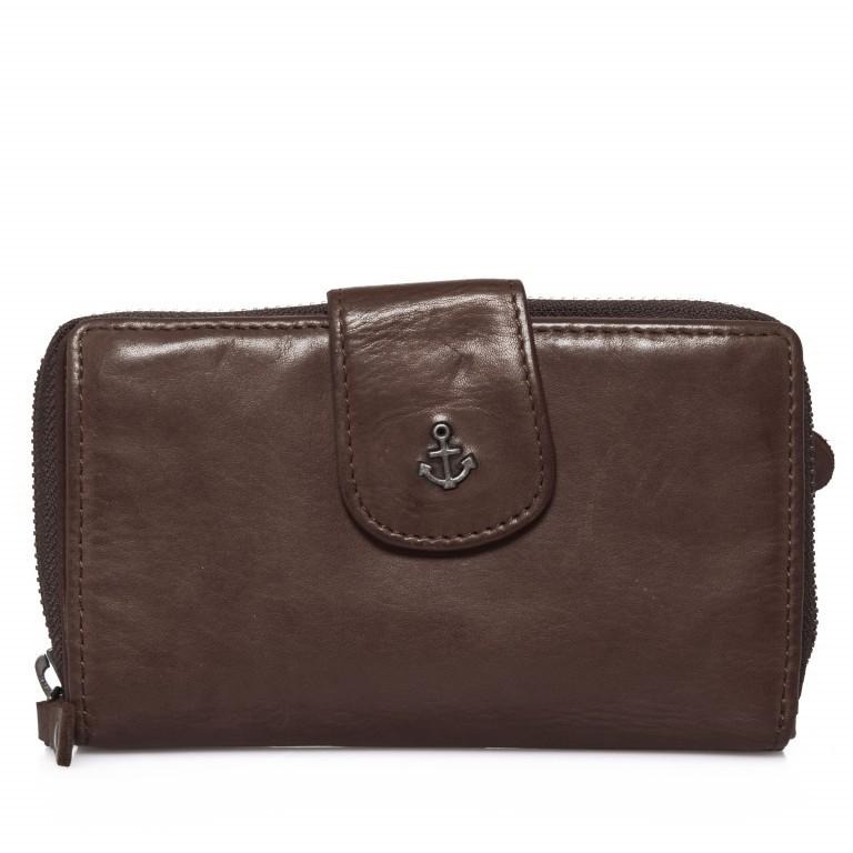 Geldbörse Anchor-Love Linn B3.0646 Chocolate Brown, Farbe: braun, Marke: Harbour 2nd, EAN: 4046478025776, Abmessungen in cm: 16.0x10.0x3.0, Bild 1 von 7