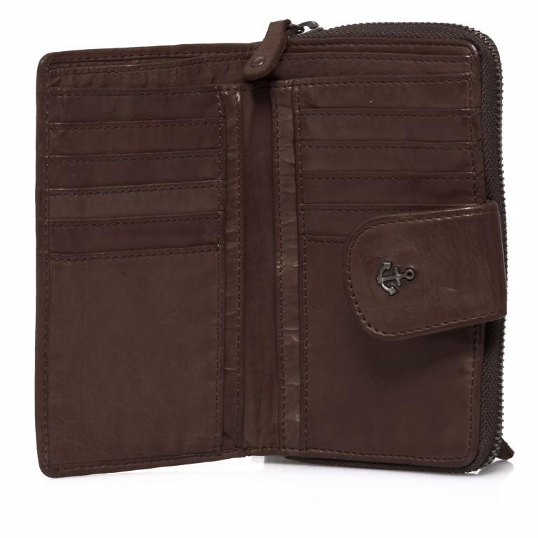 Geldbörse Anchor-Love Linn B3.0646 Chocolate Brown, Farbe: braun, Marke: Harbour 2nd, EAN: 4046478025776, Abmessungen in cm: 16.0x10.0x3.0, Bild 2 von 7