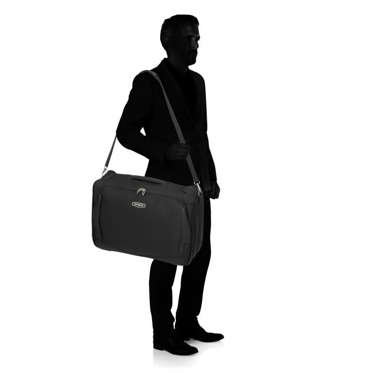 Kleidersack Xblade Bi-Fold Garment Bag Black, Farbe: schwarz, Marke: Samsonite, EAN: 5414847964060, Abmessungen in cm: 55.0x40.0x20.0, Bild 7 von 9