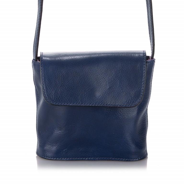 Umhängetasche Toscana Blau, Farbe: blau/petrol, Marke: Hausfelder, EAN: 4065646000049, Abmessungen in cm: 19.0x19.0x7.0, Bild 1 von 6
