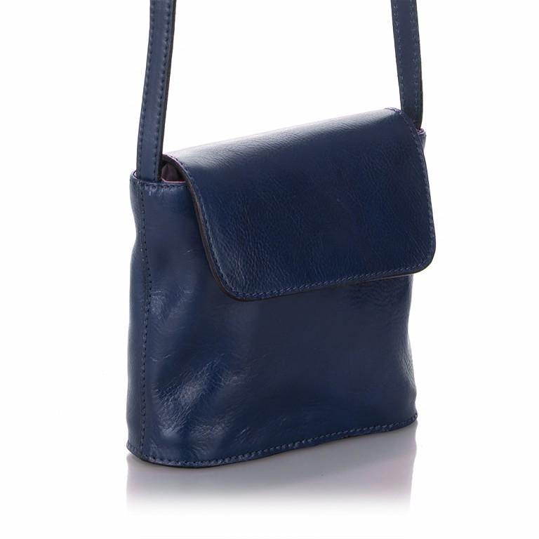 Umhängetasche Toscana Blau, Farbe: blau/petrol, Marke: Hausfelder, EAN: 4065646000049, Abmessungen in cm: 19.0x19.0x7.0, Bild 2 von 6