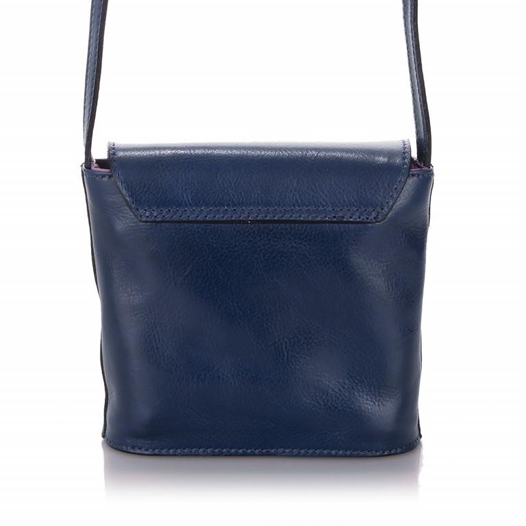 Umhängetasche Toscana Blau, Farbe: blau/petrol, Marke: Hausfelder, EAN: 4065646000049, Abmessungen in cm: 19.0x19.0x7.0, Bild 3 von 6