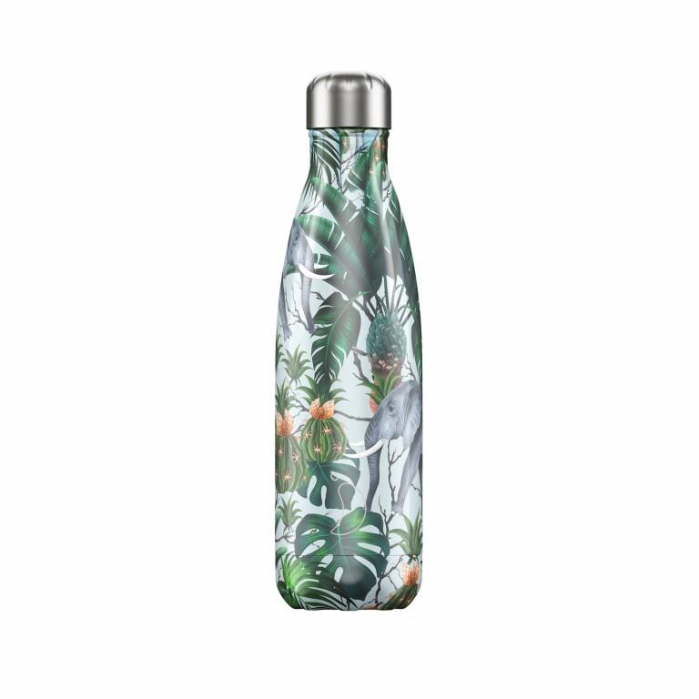 Trinkflasche Tropical Volumen 500 ml, Farbe: schwarz, grau, grün/oliv, rosa/pink, Marke: Chilly's Bottles, Bild 1 von 1