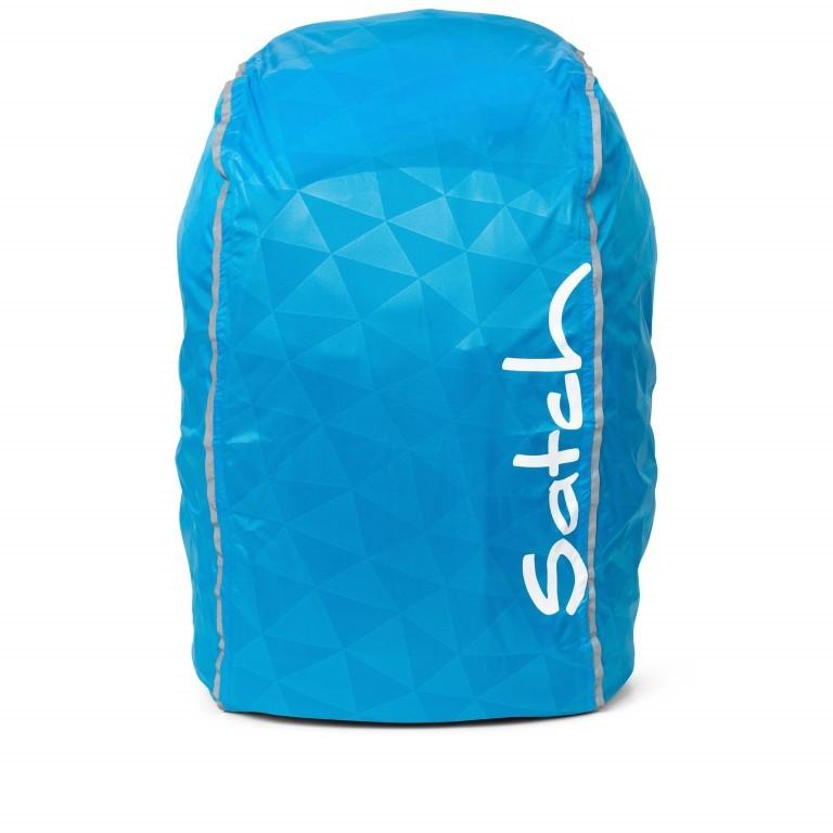 Regenhülle Raincape Blue, Farbe: blau/petrol, Marke: Satch, EAN: 4057081013050, Abmessungen in cm: 22.0x5.0x14.0, Bild 1 von 3