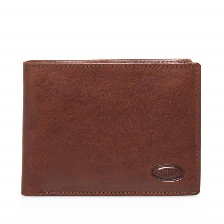 Geldbörse Monte Rosa Dark Brown, Farbe: braun, Marke: Brics, EAN: 8016623874982, Abmessungen in cm: 12.0x9.5x3.0, Bild 1 von 3