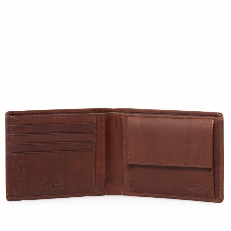 Geldbörse Monte Rosa Dark Brown, Farbe: braun, Marke: Brics, EAN: 8016623874982, Abmessungen in cm: 12.0x9.5x3.0, Bild 3 von 3