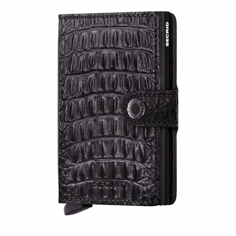 Geldbörse Miniwallet Nile Black, Farbe: schwarz, Marke: Secrid, EAN: 8718215285243, Abmessungen in cm: 6.8x10.2x2.1, Bild 1 von 5
