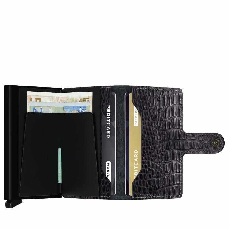 Geldbörse Miniwallet Nile Black, Farbe: schwarz, Marke: Secrid, EAN: 8718215285243, Abmessungen in cm: 6.8x10.2x2.1, Bild 3 von 5