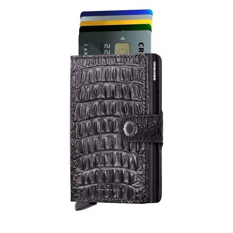 Geldbörse Miniwallet Nile Black, Farbe: schwarz, Marke: Secrid, EAN: 8718215285243, Abmessungen in cm: 6.8x10.2x2.1, Bild 5 von 5