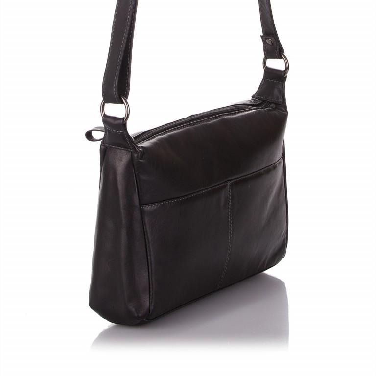 Tasche Cosy Passion Schwarz, Farbe: schwarz, Marke: Hausfelder, EAN: 4046478027619, Abmessungen in cm: 29.5x19.0x8.0, Bild 2 von 4