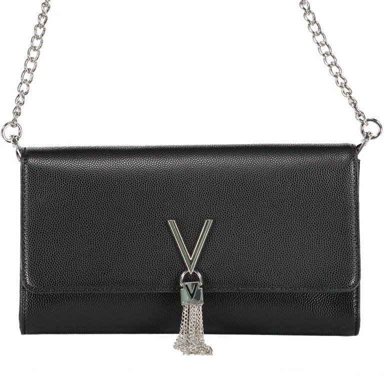 Umhängetasche Divina Nero, Farbe: schwarz, Marke: Valentino Bags, EAN: 8052790167236, Abmessungen in cm: 27.0x16.0x6.0, Bild 1 von 6
