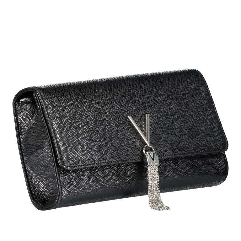 Umhängetasche Divina Nero, Farbe: schwarz, Marke: Valentino Bags, EAN: 8052790167236, Abmessungen in cm: 27.0x16.0x6.0, Bild 2 von 6