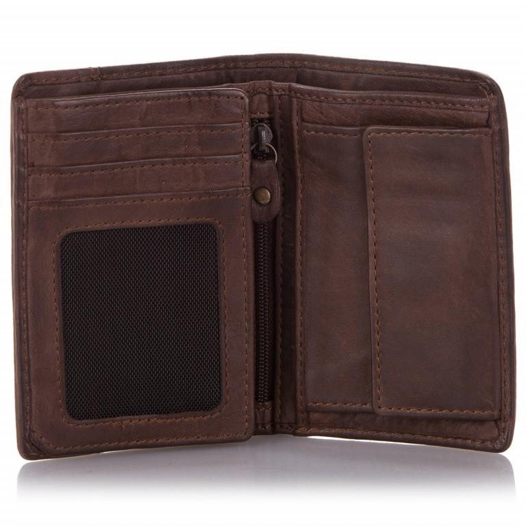 Geldbörse Anchor-Love Pauline B3.0879 Chocolate Brown, Farbe: braun, Marke: Harbour 2nd, EAN: 4046478026681, Abmessungen in cm: 8.5x12.0x1.0, Bild 2 von 4