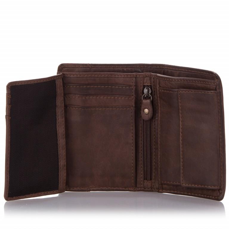 Geldbörse Anchor-Love Pauline B3.0879 Chocolate Brown, Farbe: braun, Marke: Harbour 2nd, EAN: 4046478026681, Abmessungen in cm: 8.5x12.0x1.0, Bild 3 von 4