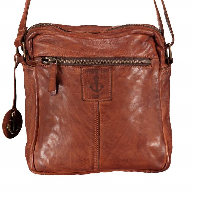 Umhängetasche Cool-Casual Arion B3.4728 Chocolate Brown, Farbe: braun, Marke: Harbour 2nd, EAN: 4046478021655, Abmessungen in cm: 23.0x28.0x7.0, Bild 5 von 5