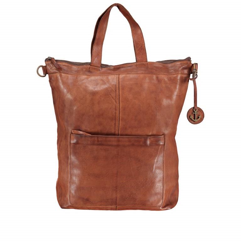Rucksack Cool-Casual Herakles B3.5639 mit Laptopfach 15 Zoll Chocolate Brown, Farbe: braun, Marke: Harbour 2nd, EAN: 4046478025806, Abmessungen in cm: 41.0x42.0x13.0, Bild 7 von 7