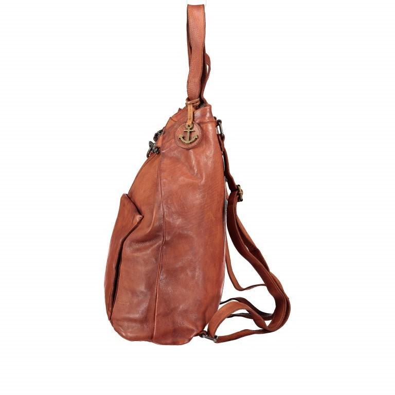 Rucksack Cool-Casual Herakles B3.5639 mit Laptopfach 15 Zoll Chocolate Brown, Farbe: braun, Marke: Harbour 2nd, EAN: 4046478025806, Abmessungen in cm: 41.0x42.0x13.0, Bild 3 von 7