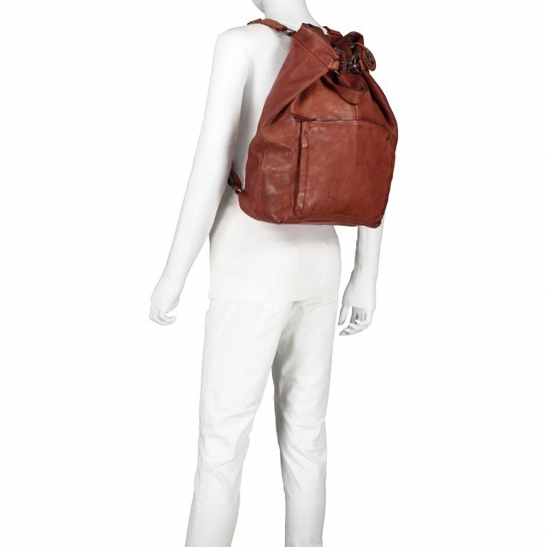Rucksack Cool-Casual Herakles B3.5639 mit Laptopfach 15 Zoll Chocolate Brown, Farbe: braun, Marke: Harbour 2nd, EAN: 4046478025806, Abmessungen in cm: 41.0x42.0x13.0, Bild 6 von 7