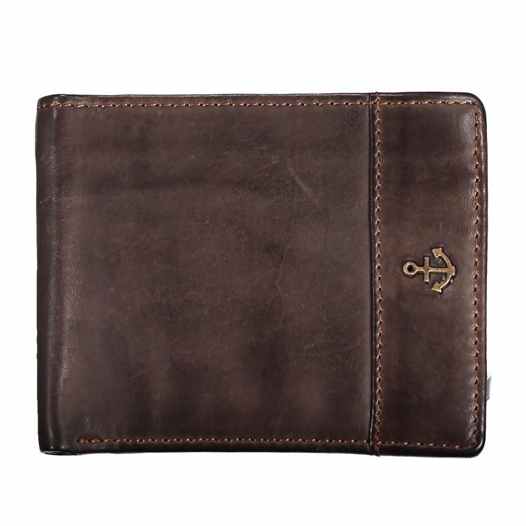 Geldbörse Cool-Casual Samsun B3.0333 Chocolate Brown, Farbe: braun, Marke: Harbour 2nd, EAN: 4046478023291, Abmessungen in cm: 12.5x9.5x2.5, Bild 1 von 4