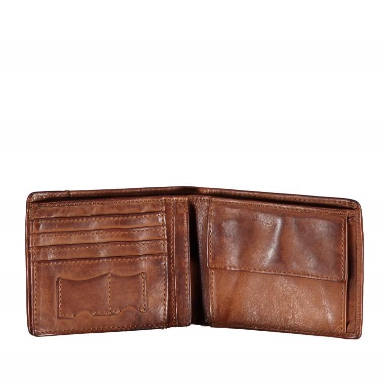 Geldbörse Cool-Casual Samsun B3.0333 Chocolate Brown, Farbe: braun, Marke: Harbour 2nd, EAN: 4046478023291, Abmessungen in cm: 12.5x9.5x2.5, Bild 2 von 4
