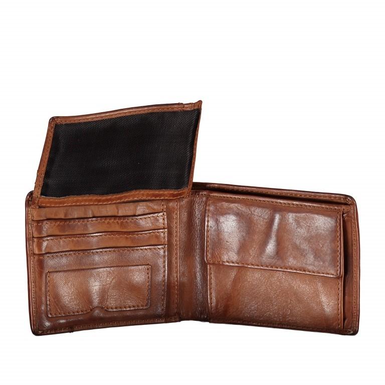 Geldbörse Cool-Casual Samsun B3.0333 Chocolate Brown, Farbe: braun, Marke: Harbour 2nd, EAN: 4046478023291, Abmessungen in cm: 12.5x9.5x2.5, Bild 3 von 4