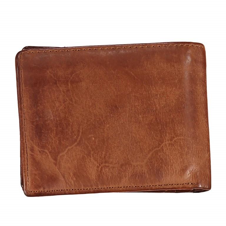Geldbörse Cool-Casual Samsun B3.0333 Chocolate Brown, Farbe: braun, Marke: Harbour 2nd, EAN: 4046478023291, Abmessungen in cm: 12.5x9.5x2.5, Bild 4 von 4
