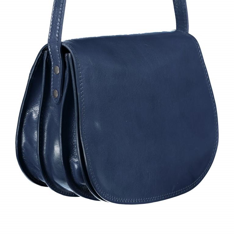 Satteltasche Toscana Größe L Blau, Farbe: blau/petrol, Marke: Hausfelder, EAN: 4065646000193, Abmessungen in cm: 27.0x23.0x13.0, Bild 2 von 6