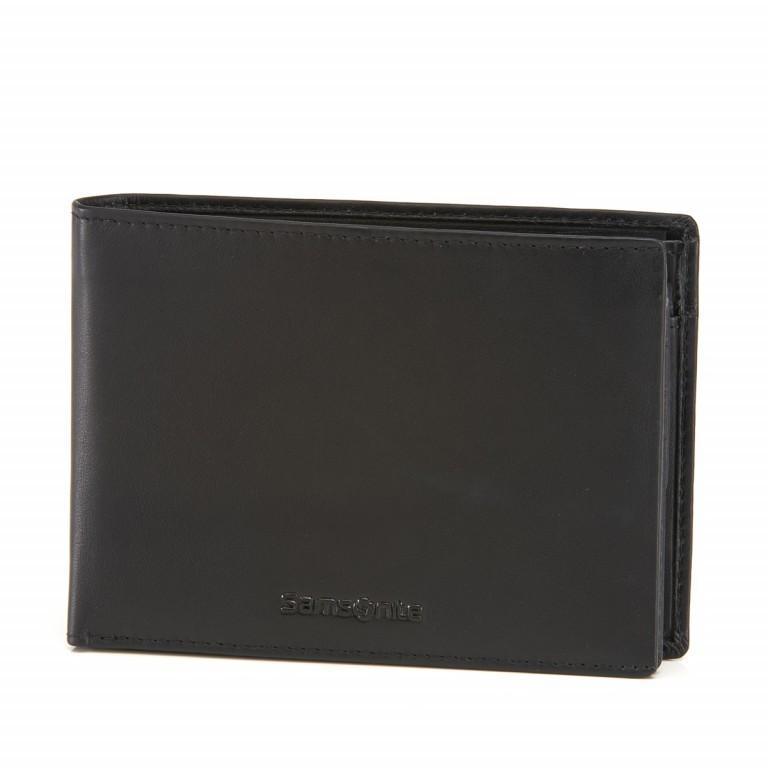 Geldbörse Success 60322 Black, Farbe: schwarz, Marke: Samsonite, EAN: 5414847479991, Abmessungen in cm: 12.5x9.5x1.5, Bild 1 von 1