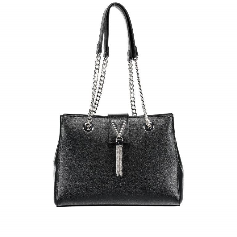 Tasche Divina Nero, Farbe: schwarz, Marke: Valentino Bags, EAN: 8052790167557, Abmessungen in cm: 30.0x23.0x10.0, Bild 1 von 6