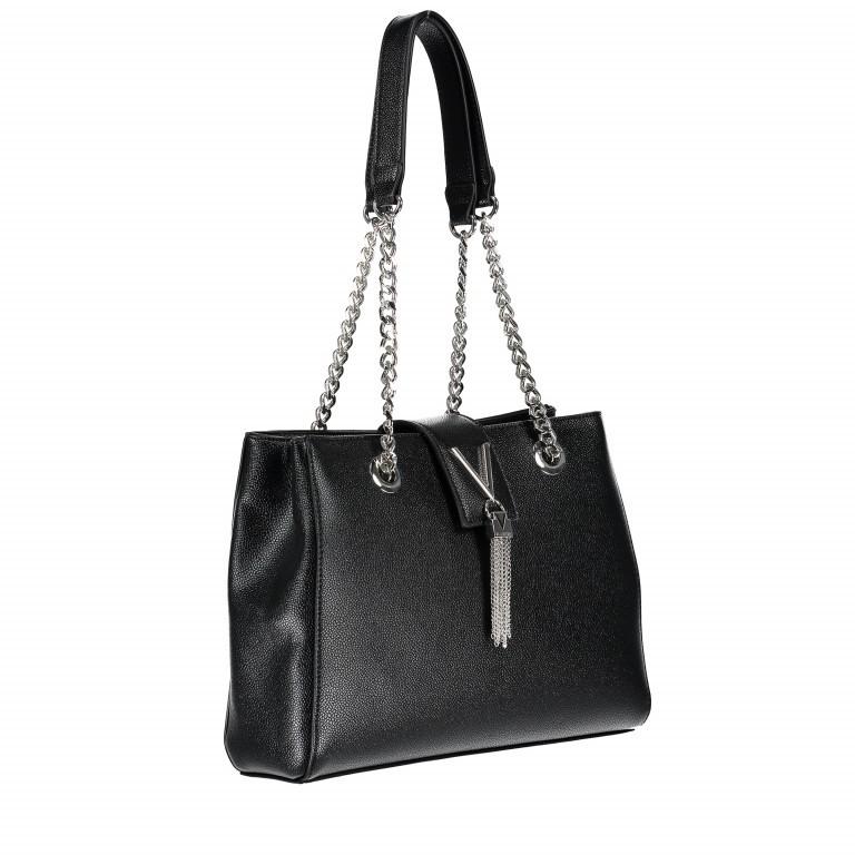 Tasche Divina Nero, Farbe: schwarz, Marke: Valentino Bags, EAN: 8052790167557, Abmessungen in cm: 30.0x23.0x10.0, Bild 2 von 6