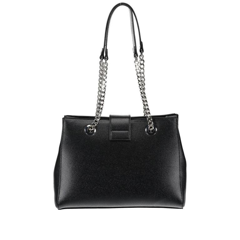Tasche Divina Nero, Farbe: schwarz, Marke: Valentino Bags, EAN: 8052790167557, Abmessungen in cm: 30.0x23.0x10.0, Bild 3 von 6