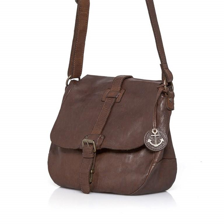 Umhängetasche Cool-Casual Saddle Nauja B3.4903 Chocolate Brown, Farbe: braun, Marke: Harbour 2nd, EAN: 4046478020399, Abmessungen in cm: 29.0x28.0x11.0, Bild 2 von 6