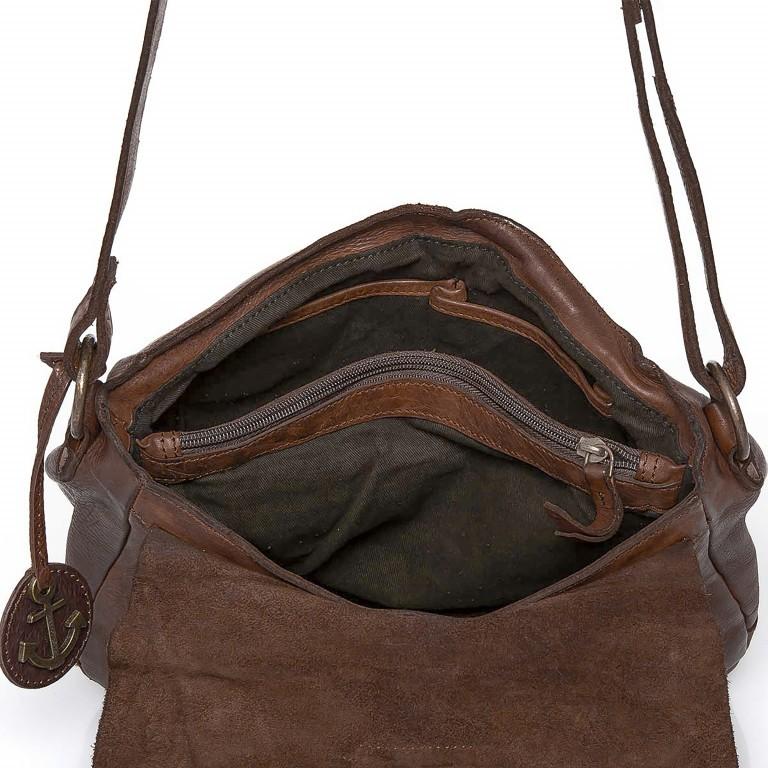 Umhängetasche Cool-Casual Saddle Nauja B3.4903 Chocolate Brown, Farbe: braun, Marke: Harbour 2nd, EAN: 4046478020399, Abmessungen in cm: 29.0x28.0x11.0, Bild 4 von 6