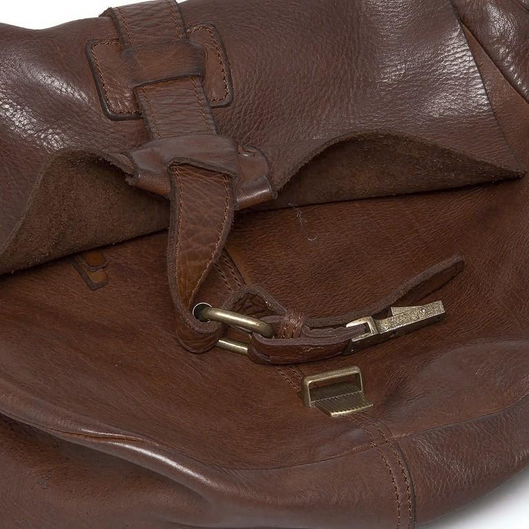 Umhängetasche Cool-Casual Saddle Nauja B3.4903 Chocolate Brown, Farbe: braun, Marke: Harbour 2nd, EAN: 4046478020399, Abmessungen in cm: 29.0x28.0x11.0, Bild 6 von 6