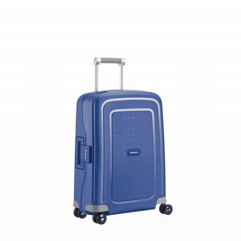 Koffer S´Cure Spinner 55 Dark Blue, Farbe: blau/petrol, Marke: Samsonite, EAN: 5414847329944, Abmessungen in cm: 40.0x55.0x20.0, Bild 1 von 5