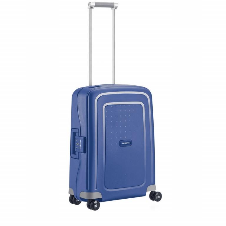 Koffer S´Cure Spinner 55 Dark Blue, Farbe: blau/petrol, Marke: Samsonite, EAN: 5414847329944, Abmessungen in cm: 40.0x55.0x20.0, Bild 2 von 5