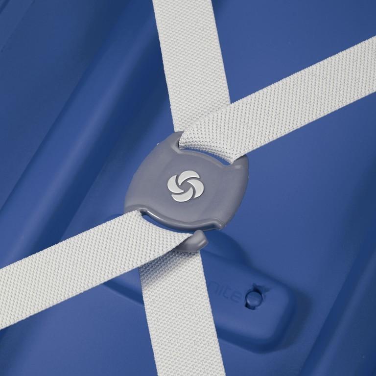 Koffer S´Cure Spinner 55 Dark Blue, Farbe: blau/petrol, Marke: Samsonite, EAN: 5414847329944, Abmessungen in cm: 40.0x55.0x20.0, Bild 4 von 5