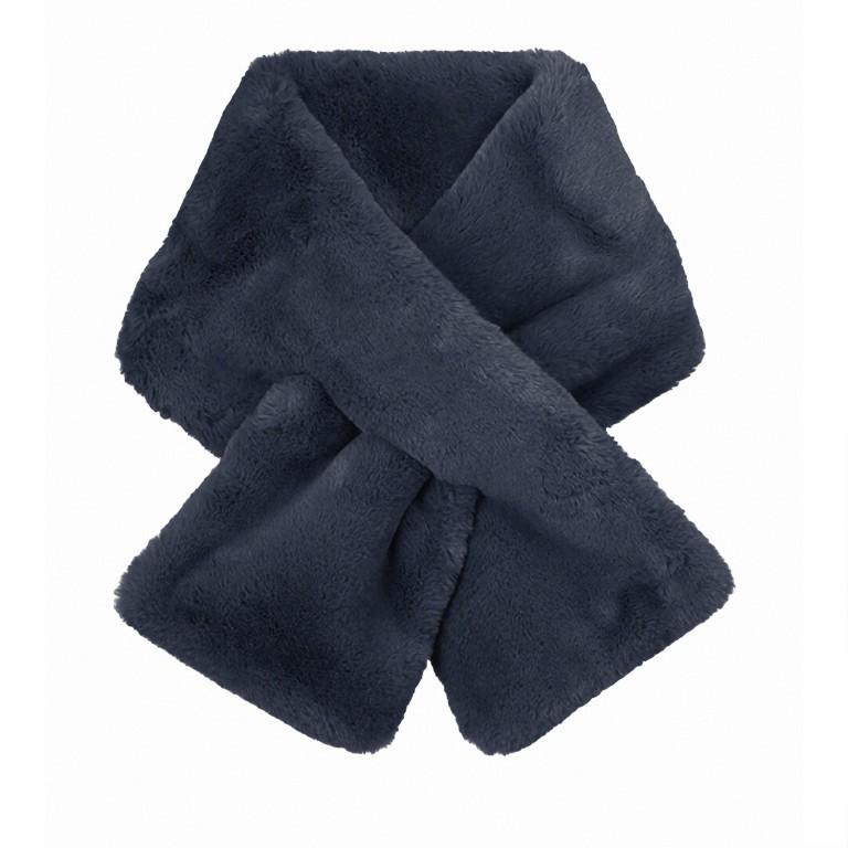 Schal Stip Kunstfell Navy Blue, Farbe: blau/petrol, Marke: Rino & Pelle, EAN: 8719293425033, Abmessungen in cm: 108.0x20.0, Bild 1 von 1