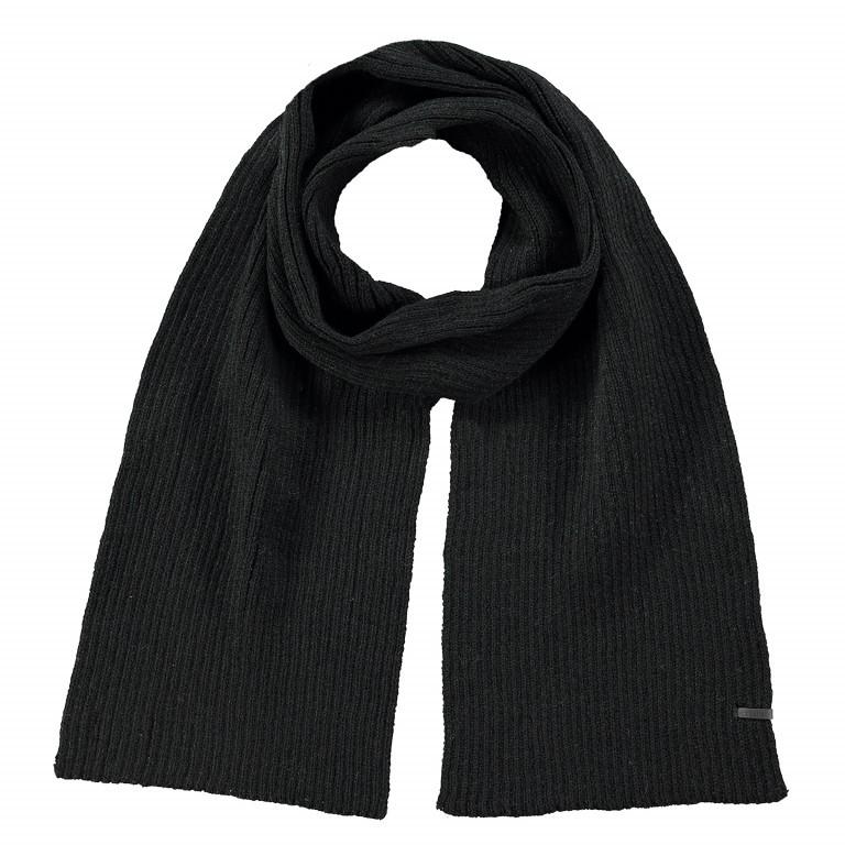 Schal Wilbert Black, Farbe: schwarz, Marke: Barts, EAN: 8717457547102, Abmessungen in cm: 160.0x20.0, Bild 1 von 1