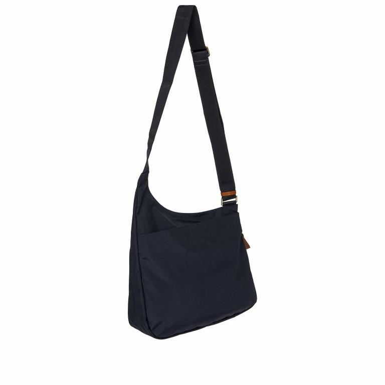 Umhängetasche X-Bag & X-Travel Ocean Blue, Farbe: blau/petrol, Marke: Brics, EAN: 8016623886862, Abmessungen in cm: 32.0x28.0x8.0, Bild 6 von 7