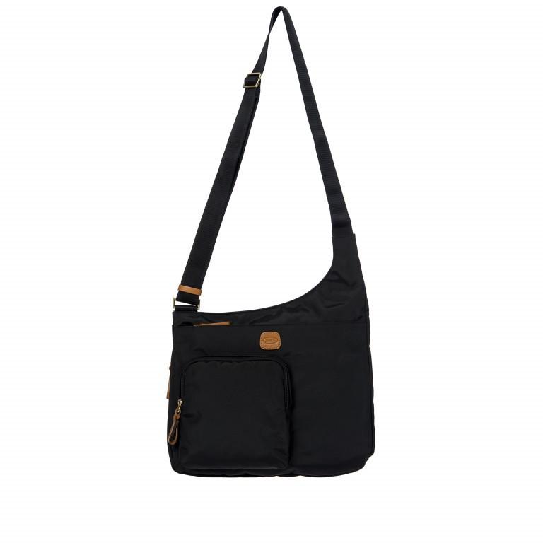 Umhängetasche X-Bag & X-Travel Black, Farbe: schwarz, Marke: Brics, EAN: 8016623886893, Abmessungen in cm: 32.0x28.0x8.0, Bild 1 von 7