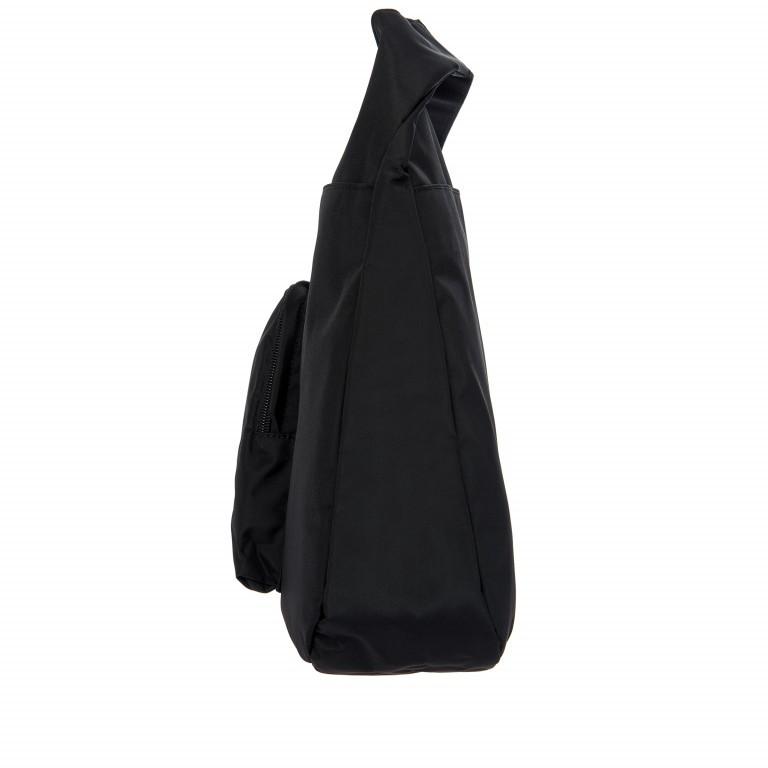 Umhängetasche X-Bag & X-Travel Black, Farbe: schwarz, Marke: Brics, EAN: 8016623886893, Abmessungen in cm: 32.0x28.0x8.0, Bild 3 von 7